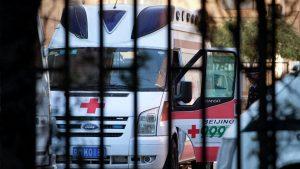 В Китае столкнулись два туристических автобуса