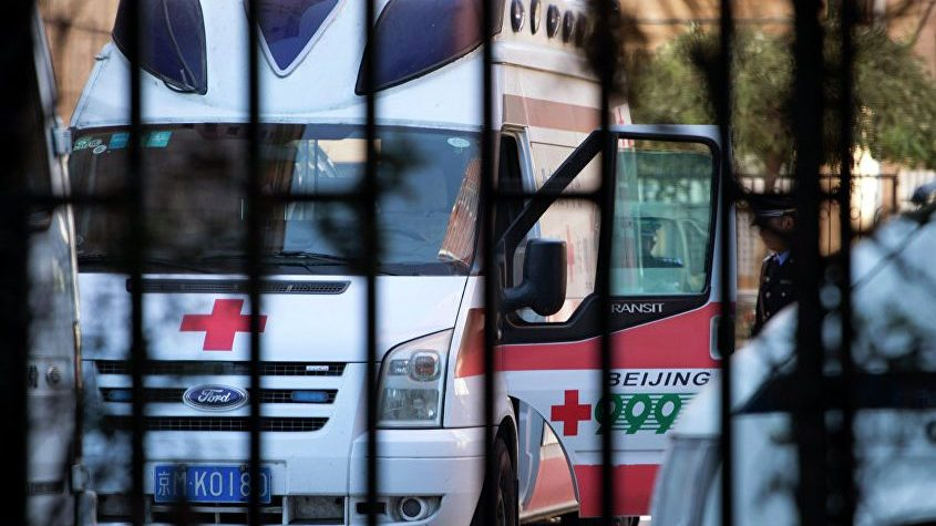 В Китае погибли шесть человек