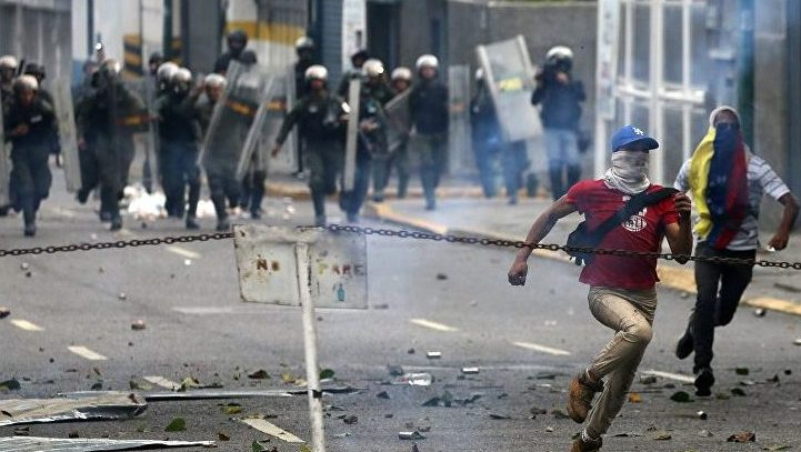 Попытка нападения на резиденцию лидера оппозиции Венесуэлы