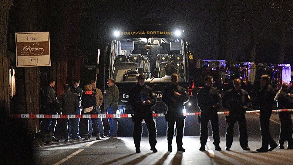 Подрыв автобуса футболистов в ФРГ