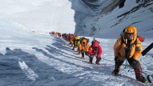 Российские альпинисты