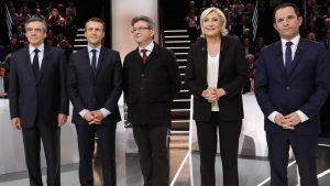 Перед первым туром президентских выборов, Франция проводит день тишины