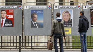на выборы во Франции пришли 28,5% избирателей из 47 миллионов