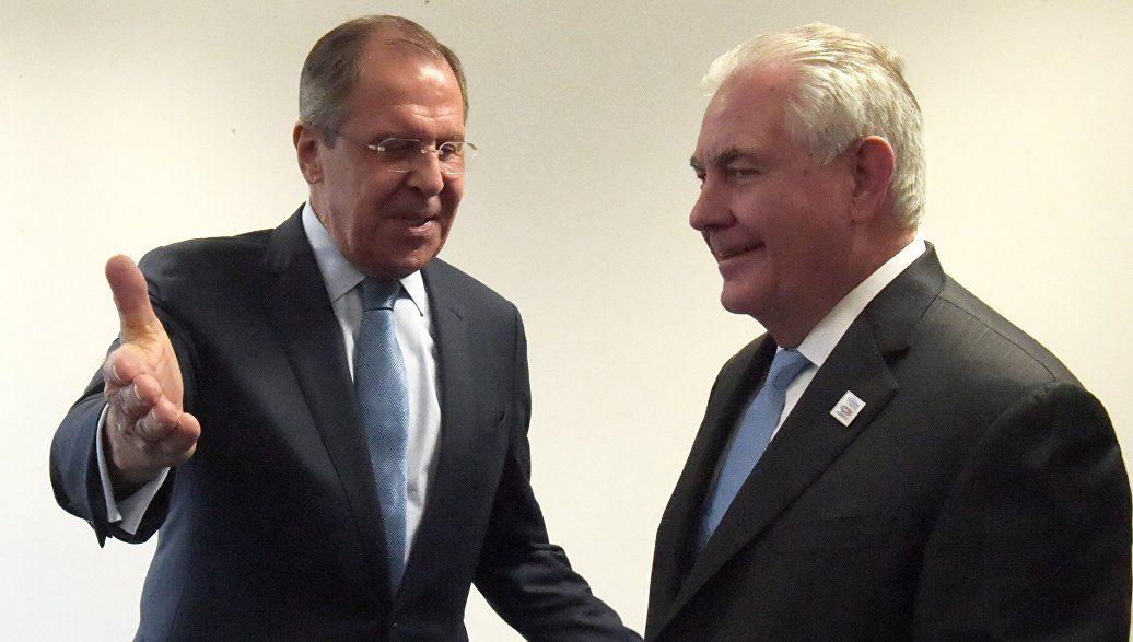 Лавров и Тиллерсон проводят переговоры в Москве