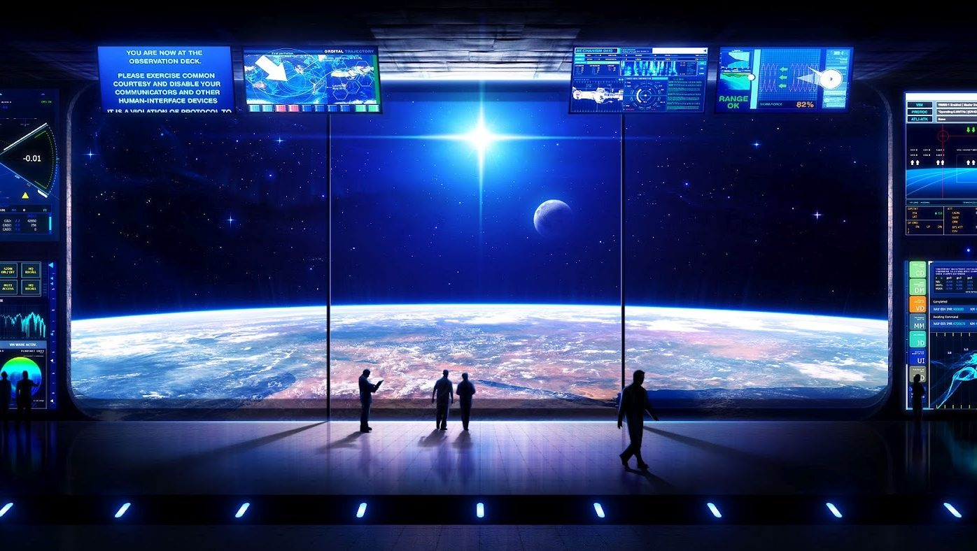 Жить в Космосе