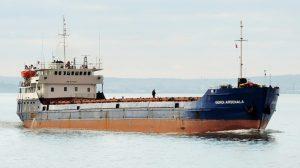 В Черном море затонул сухогруз