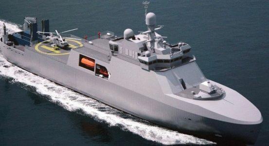 В Петербурге начато строительство уникального боевого ледокола