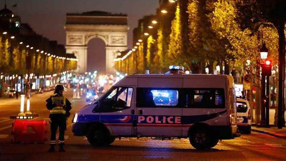 Перестрелка в Париже