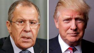 В среду состоится встреча Лаврова и Трампа