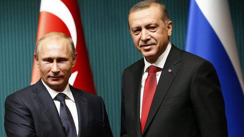 в Сочи состоится встреча Путина и Эрдогана