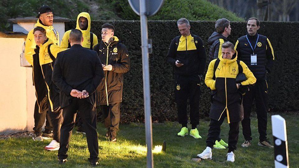 Подрыв автобуса ФК «Боруссия» в Дортмунде