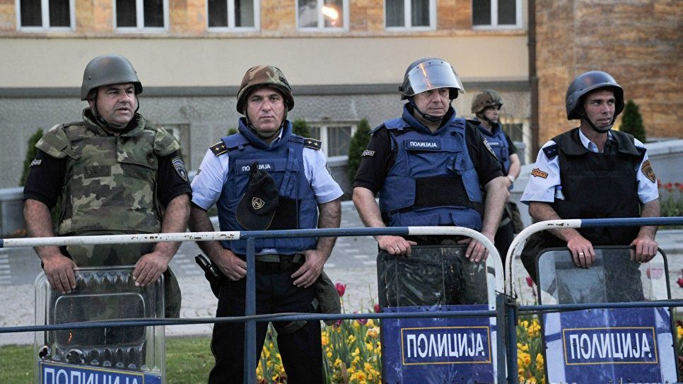 В македонском парламенте нашли самодельное взрывное устройство