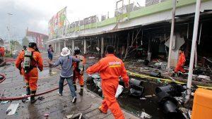 Взрыв в гипермаркете «Big C»