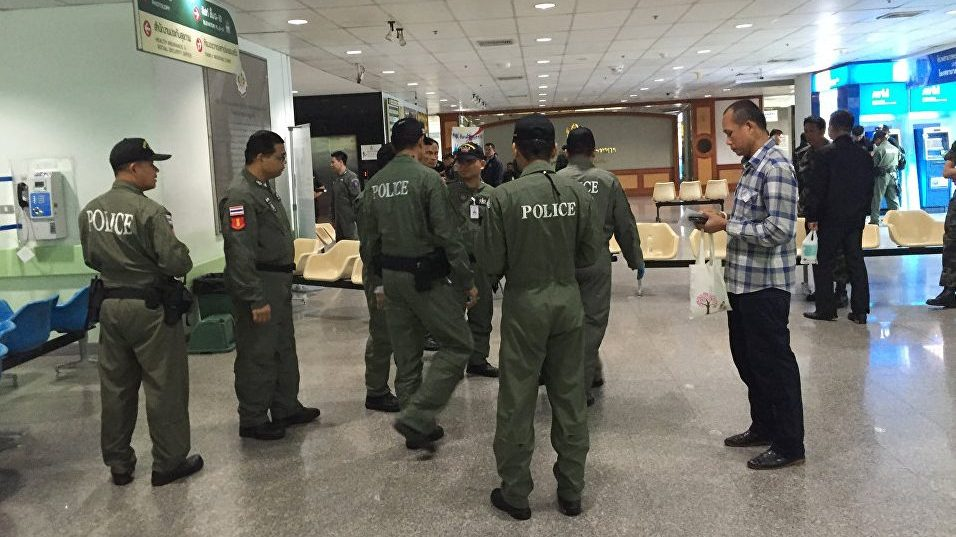 В Таиланде было задержано 50 человек