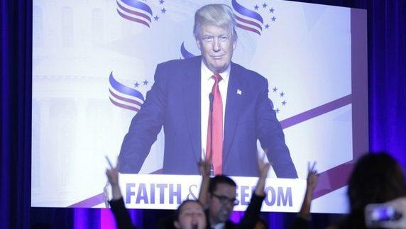 ролик Дональда Трампа