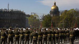 В Петербурге Парад без кораблей