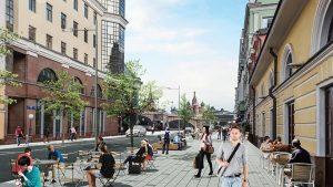 Центр Москвы летом изменят