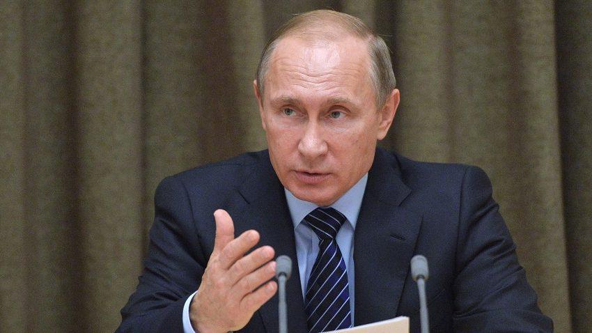 Президент России Владимир Путин призвал европейцев