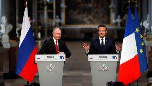 Владимир Путин с рабочим визитом приехал во Францию