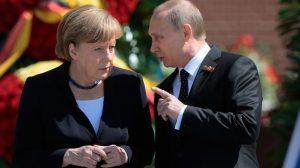 Встреча Путина и Меркель состоится сегодня в Сочи