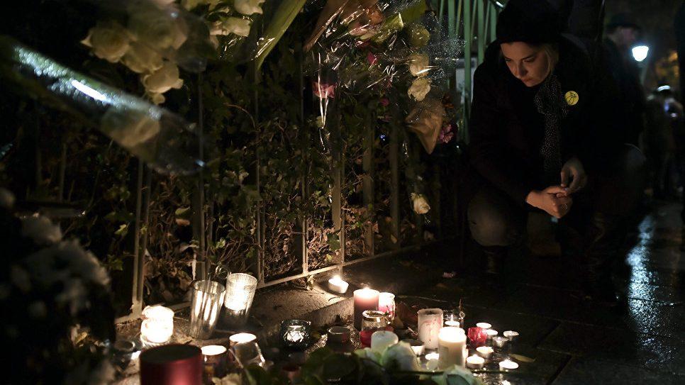 Француженка сочеталась посмертным браком с мужчиной, погибшим в зале «Батаклан»