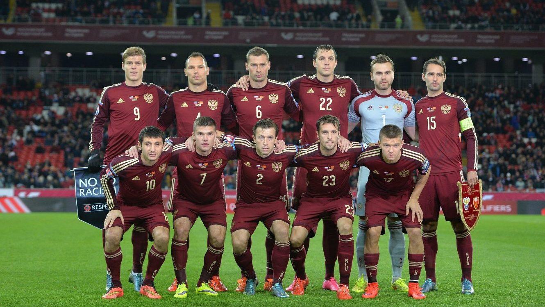 матч между сборными по футболу России и Чили