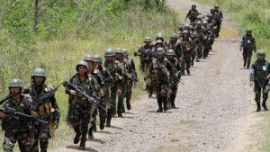 американские военные в города Марави