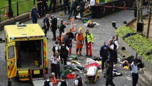 В Лондоне произошла серия терактов