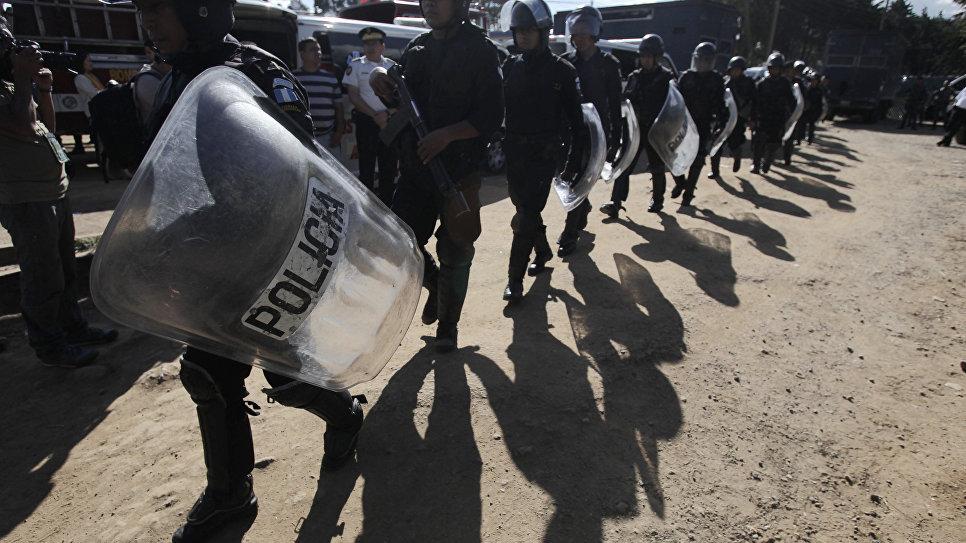 в Гватемале произошел бунт