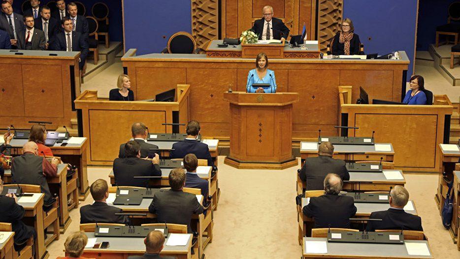 в Эстонии не выбирает народ