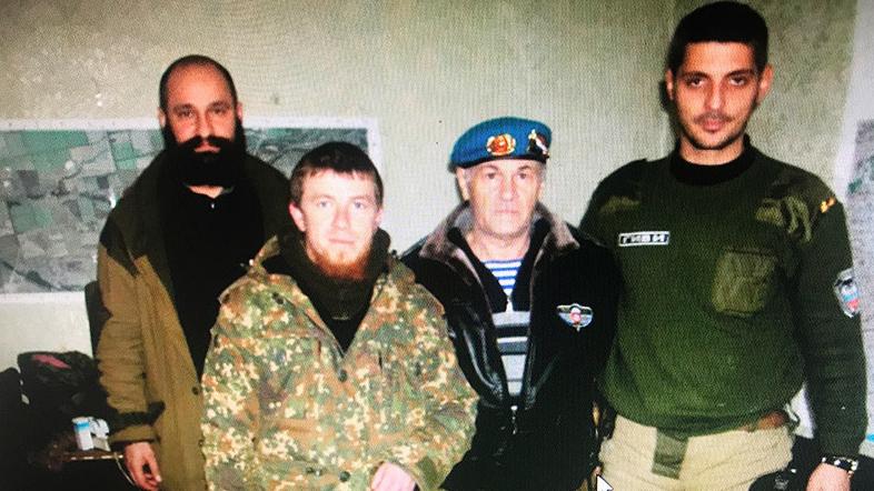 задержан российский военный