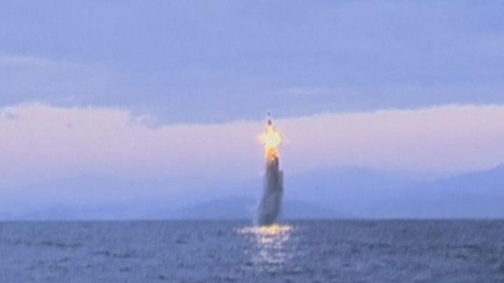 Северная Корея произвела очередной запуск ракеты