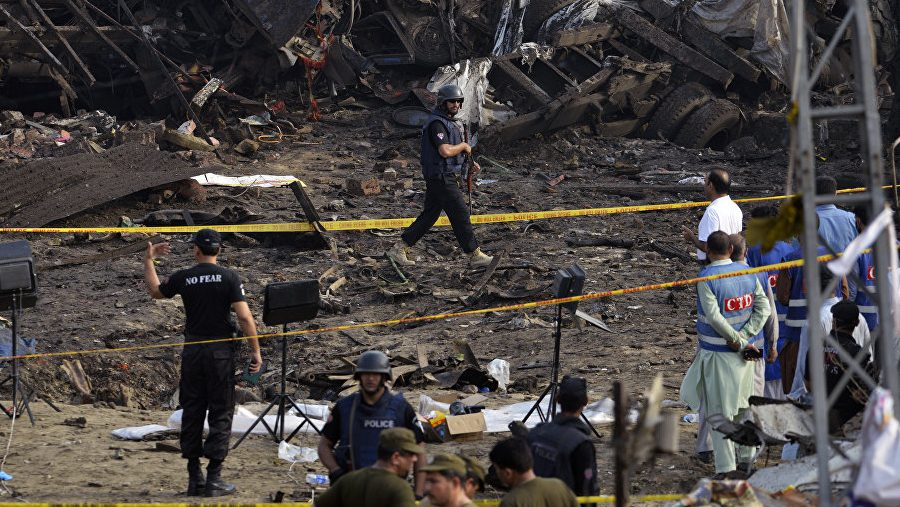 В Лахоре во время взрыва пострадали 39 человек