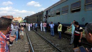 Столкновение поездов в египетском городе Александрия произошло 11 августа.