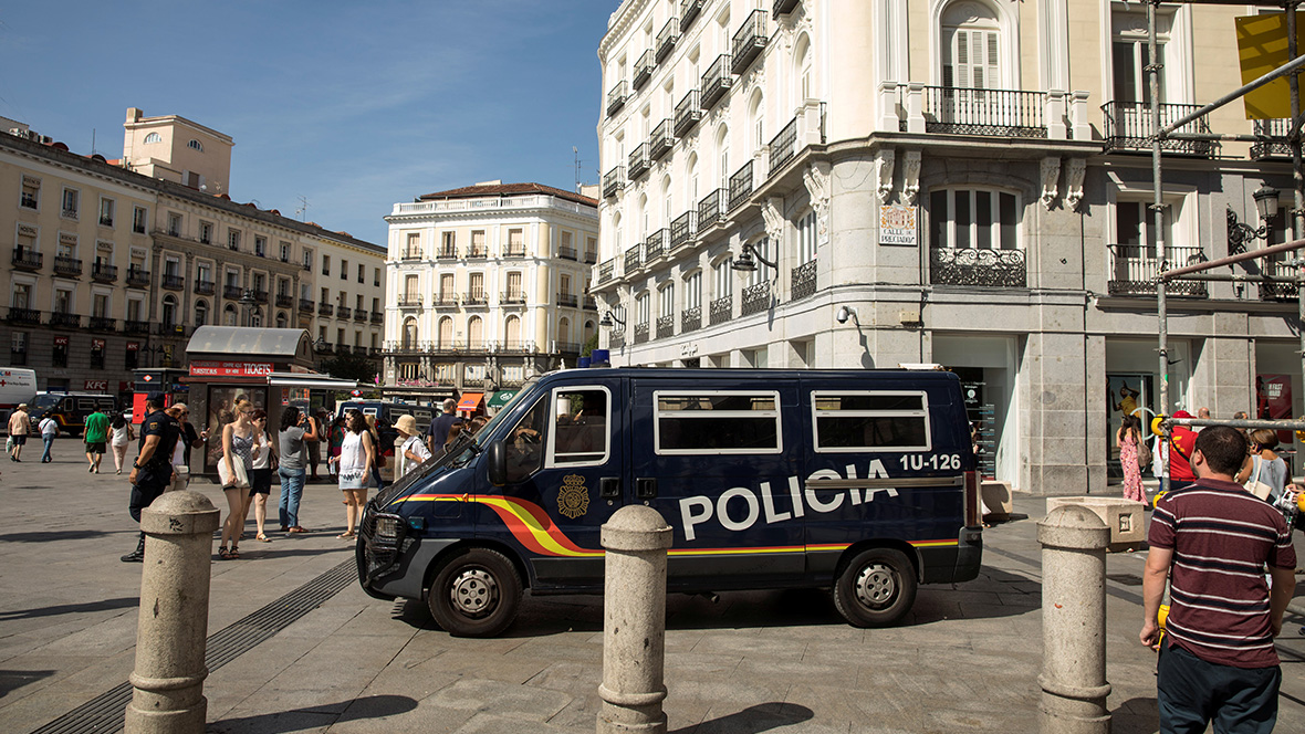 МВД Испании