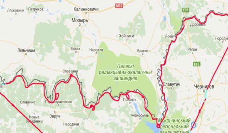 воздушное пространство Беларуси