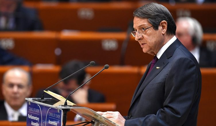 президент КипраНикос Анастасиадис