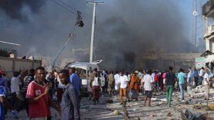центре Могадишо