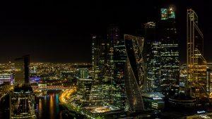 у «Москва-сити»