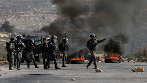 23 палестинцев