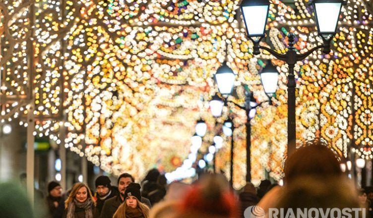 от Красной площади в Москве