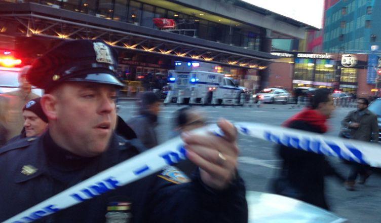 Манхэттене прогремел взрыв