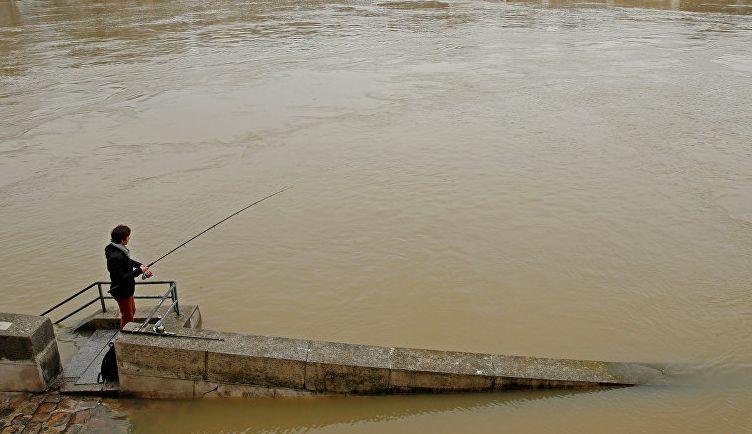 Франции из-за наводнения