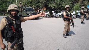 В воинской части Пакистана