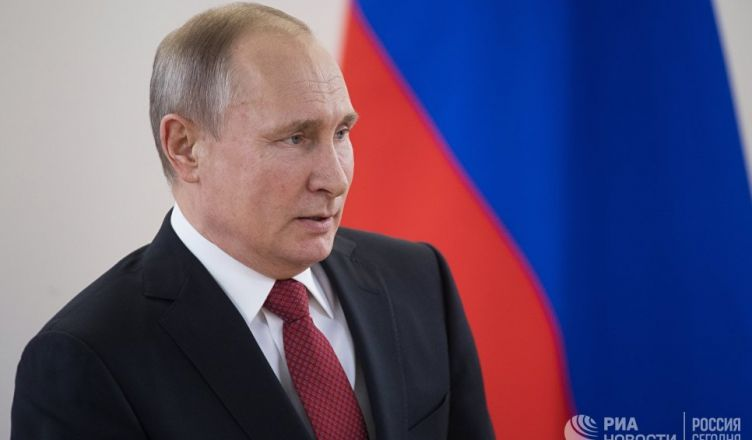 сейчас Владимир Путин