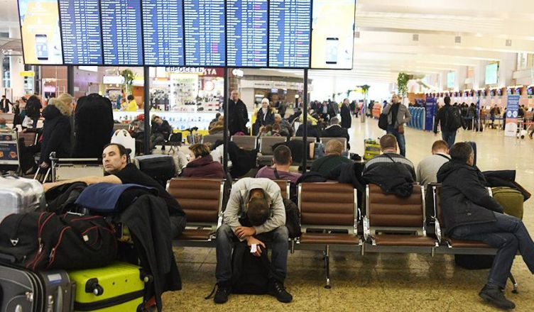 аэропортах Москвы