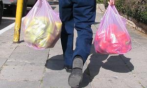 пластиковых пакетов