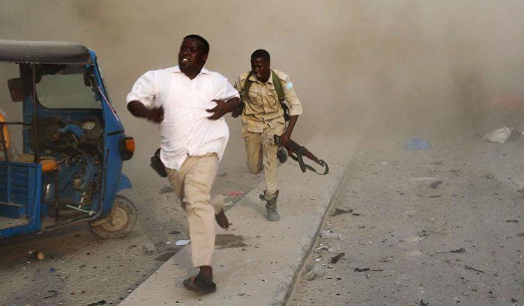 в Сомали