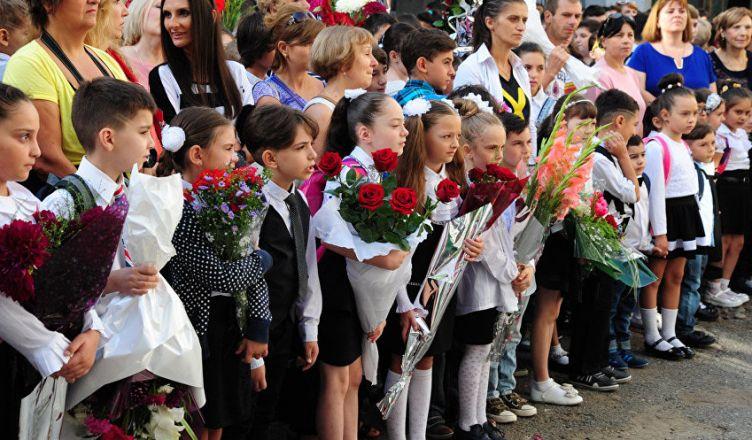 российских школьников