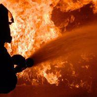 произошёл пожар